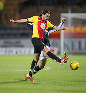Partick Thistle's Ryan Edwards - Dundee v Partick Thistle in the Ladbrokes Scottish Premiership at Dens Park, Dundee.Photo: David Young<br /> <br />  - &copy; David Young - www.davidyoungphoto.co.uk - email: davidyoungphoto@gmail.com