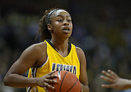 December 09 2010: Iowa guard Kachine Alexander (21) during the first half of their NCAA basketball game at Carver-Hawkeye Arena in Iowa City, Iowa on December 9, 2010. Iowa defeated Iowa State 62-40 in the Hy-Vee Cy-Hawk Series rivalry game.