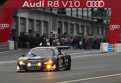 25.06.2011, GER, Motorsport, 24 H Rennen Nürburgring, im Bild Audi Sport Team Abt Sportsline (Luca LUDWIG, Christopher MIES, Christer JOENS, Christian ABT), EXPA Pictures © 2011, PhotoCredit: EXPA/ A. Neis