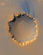 Victoria Crater' at Meridiani Planum on the surface of the planet Mars
