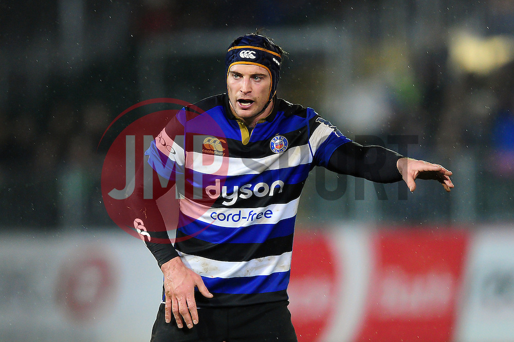 Paul Grant of Bath Rugby - Mandatory byline: Patrick Khachfe/JMP - 07966 386802 - 27/01/2017 - RUGBY UNION - The Recreation Ground - Bath, England - Bath Rugby v Gloucester Rugby - Anglo-Welsh Cup.