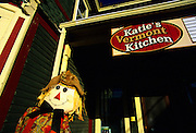 Image of Katie's Vermont Kitchen on Main Street in downtown Stowe, Vermont, American Northeast