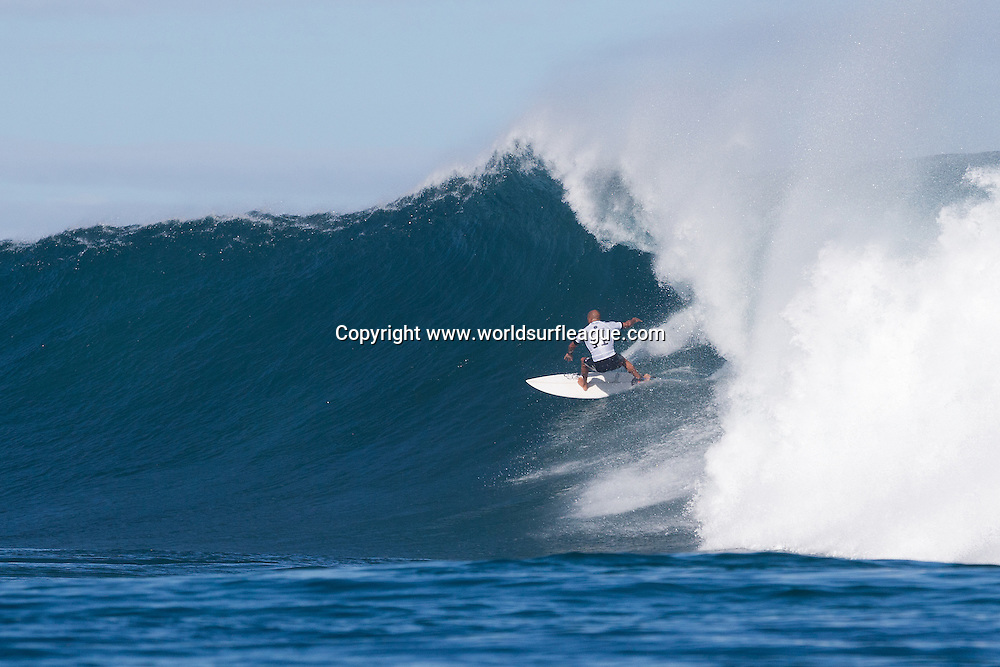 THIS IMAGE CAPTION: MARGARET RIVER, Western Australia (Saturday, April 18, 2015): Kelly Slater of Cocoa Beach, Florida, USA (pictured)  winning his round 4 heat of the Drug Aware Margaret River Pro at the main break and advancing into the quarter finals on Saturday April 18, 2015. <br /> <br /> IMAGE CREDIT: WSL / Cestari<br /> PHOTOGRAPHER: Kelly Cestari<br /> SOCIAL MEDIA TAG: @wsl @kc80<br /> <br /> The images attached or accessed by link within this email (&quot;Images&quot;) are hand-out images from the Association of Surfing Professionals LLC (&quot;World Surf League&quot;). All Images are royalty-free but for editorial use only. No commercial or other rights are granted to the Images in any way. The Images are provided on an &quot;as is&quot; basis and no warranty is provided for use of a particular purpose. Rights to an individual within an Image are not provided. Copyright to the Images is owned by World Surf League. Sale or license of the Images is prohibited. ALL RIGHTS RESERVED.