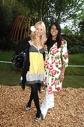 Left to right, HANNAH SANDLING and JACKIE ST.CLAIR at the 2008 Chelsea Flower Show 19th May 2008.<br />
