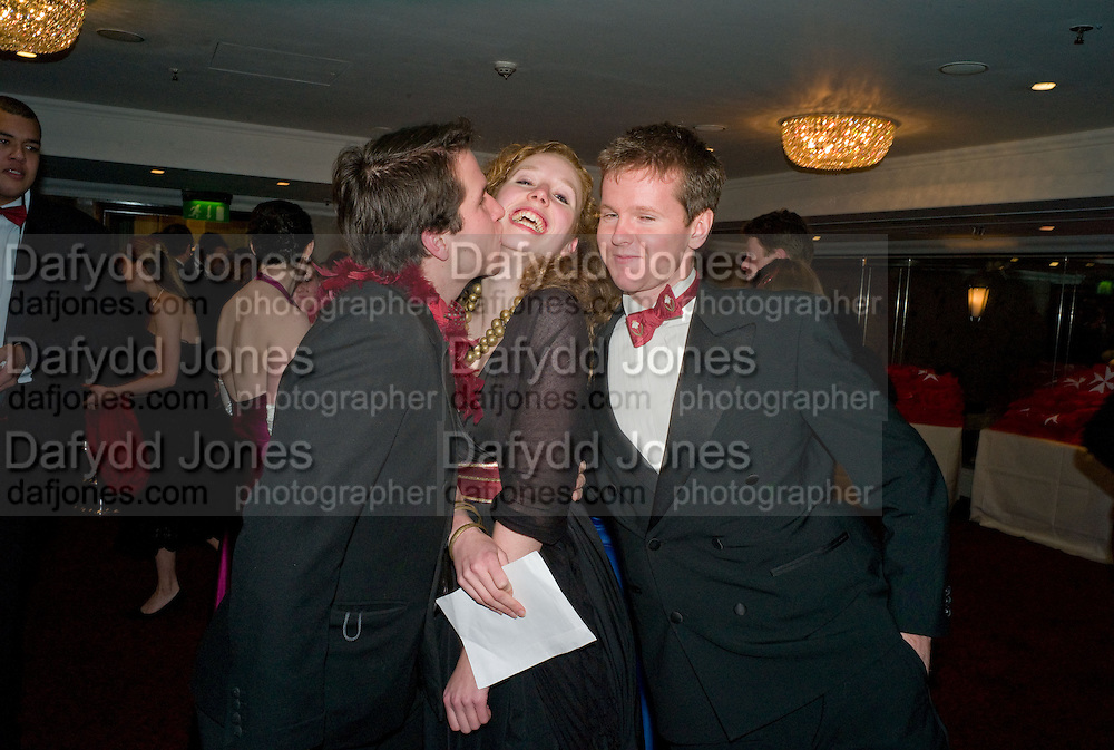 TOM GALLIANO; ELLIE COWARD; MARK HADEN. The 30th White Knights charity  Ball.  Grosvenor House Hotel. Park Lane. London. 10 January 2009 *** Local Caption *** -DO NOT ARCHIVE-© Copyright Photograph by Dafydd Jones. 248 Clapham Rd. London SW9 0PZ. Tel 0207 820 0771. www.dafjones.com.<br /> TOM GALLIANO; ELLIE COWARD; MARK HADEN. The 30th White Knights charity  Ball.  Grosvenor House Hotel. Park Lane. London. 10 January 2009