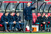 ALKMAAR - 11-12-2016, AZ -  Feyenoord, AFAS Stadion, AZ trainer John van den Brom