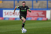 Forest Green Rovers Carl Winchester(7) runs forward during the EFL Sky Bet League 2 match between Macclesfield Town and Forest Green Rovers at Moss Rose, Macclesfield, United Kingdom on 29 September 2018.