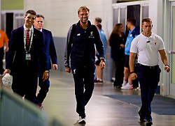 NEW JERSEY, USA - Wednesday, July 25, 2018: Liverpool's manager Jürgen Klopp arrives before a preseason International Champions Cup match between Manchester City FC and Liverpool FC at the Met Life Stadium. (Pic by David Rawcliffe/Propaganda)