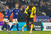 Abdoulaye Doucoure (16) during the Premier League match between Leicester City and Watford at the King Power Stadium, Leicester, England on 4 December 2019.