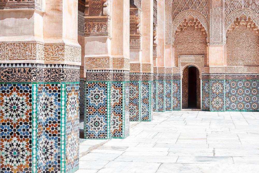 Medersa Ben Youssef in Marrakech.