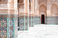 Medersa Ben Youssef in Marrakech.