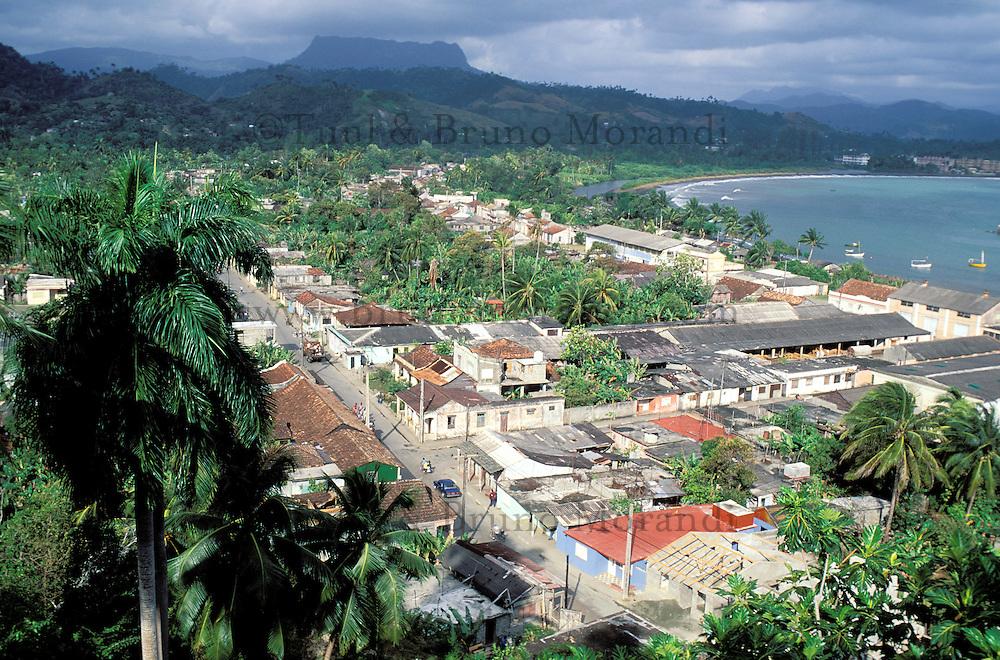 Cuba, Province de Guantanamo, Baracoa, Vue génerale // Cuba, Guatanamo province, Baracoa