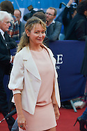 Julie Ferrier attends the 'Life' Premiere during the 41st Deauville American Film Festival on September 5, 2015 in Deauville, France