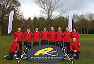 England Golf Squad at Woodhall Spa with Powakaddy
