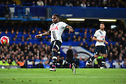 Tottenham Hotspur Defender Danny Rose (3) passes up the wing during the Barclays Premier League match between Chelsea and Tottenham Hotspur at Stamford Bridge, London, England on 2 May 2016. Photo by Jon Bromley.