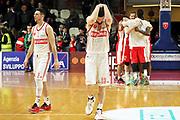 DESCRIZIONE: Varese Lega A 2014-15 Openjobmetis Varese Consultinvest Pesaro<br /> GIOCATORE: Craig Callahan<br /> CATEGORIA: delusione<br /> SQUADRA: Openjobmetis Varese<br /> EVENTO: Campionato Lega A 2014-2015<br /> GARA: Openjobmetis Varese Consultinvest Pesaro<br /> DATA: 01/02/2015<br /> SPORT: Pallacanestro<br /> AUTORE: Agenzia Ciamillo-Castoria/A. Ossola<br /> Galleria: Lega Basket A 2014-2015<br /> Fotonotizia: Varese Lega A 2014-14 Openjobmetis Varese Consultinvest Pesaro