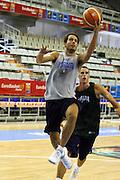 Allenamento Eurobasket 2007<br /> Massimo Bulleri