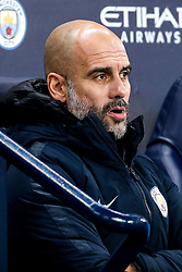 Manchester City manager Pep Guardiola - Mandatory by-line: Robbie Stephenson/JMP - 14/01/2019 - FOOTBALL - Etihad Stadium - Manchester, England - Manchester City v Wolverhampton Wanderers - Premier League