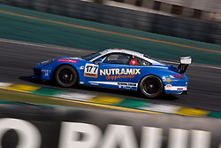 July 27, 2018 - Sao Paulo, Sao Paulo, Brazil - Car #177 in action during the free practice session for the 5th stage of the 2018 Brazilian Porsche GT3 Cup championship, which takes place on Saturday, 28 at Interlagos circuit in Sao Paulo, Brazil. (Credit Image: © Paulo Lopes via ZUMA Wire)