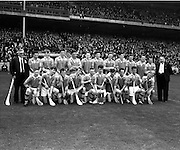 01/09/1963<br /> 09/01/1963<br /> 1 September 1963<br /> Hurling match: Wexford v Union at Croke Park, Dublin.<br /> Wexford team.