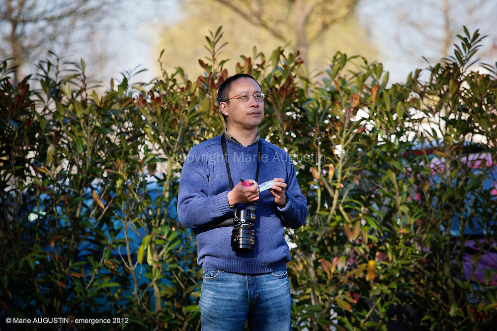 Hoang Duc NGO TICH, chef opérateur - tournage scène imposée de Guihem AMESLAND - emergence 2012