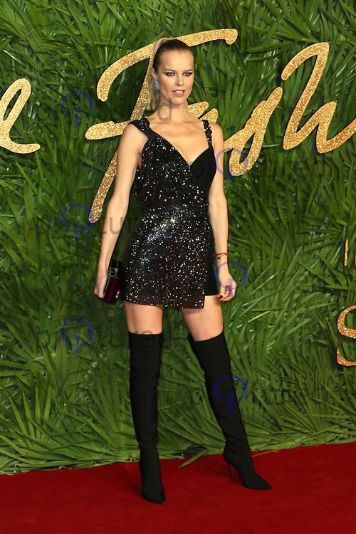 Eva Herzigova, The Fashion Awards 2017, The Royal Albert Hall, London UK, 04 December 2017, Photo by Richard Goldschmidt