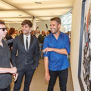 NLD/Zwolle20150917 - CD presentatie Open van Nick & Simon en expositie opening,