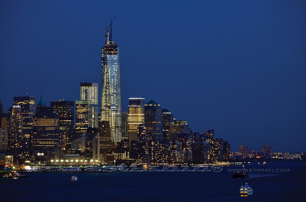 Memory of World Trade Center, Freedom Tower.
