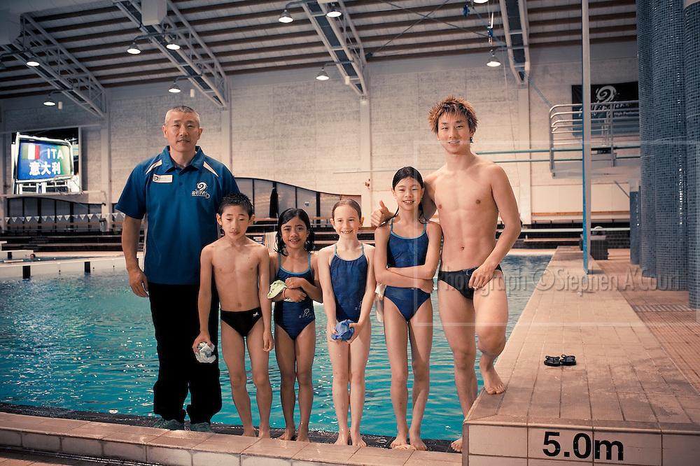 Wellington High Performance Aquatics & Swimming New Zealand host a function for sponsors, at the Kilbirnie Regional Aquatic Centre.