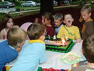 Salisbury Mills, NY - Birthday party for Raymond Bushey on  Sept. 8, 2007.