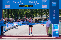 London, May 25th 2014. Men's winner