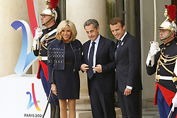 September 15, 2017 - Paris, France, France - Brigitte Macron - Nicolas Sarkosy - Emmanuel Macron (Credit Image: © Panoramic via ZUMA Press)