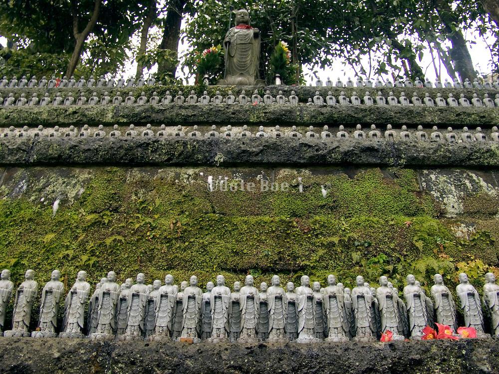Jizo figurines