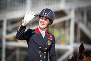 Charlotte Dujardin - Mount St John Freestyle<br /> FEI World Equestrian Games Tryon 2018<br /> © DigiShots