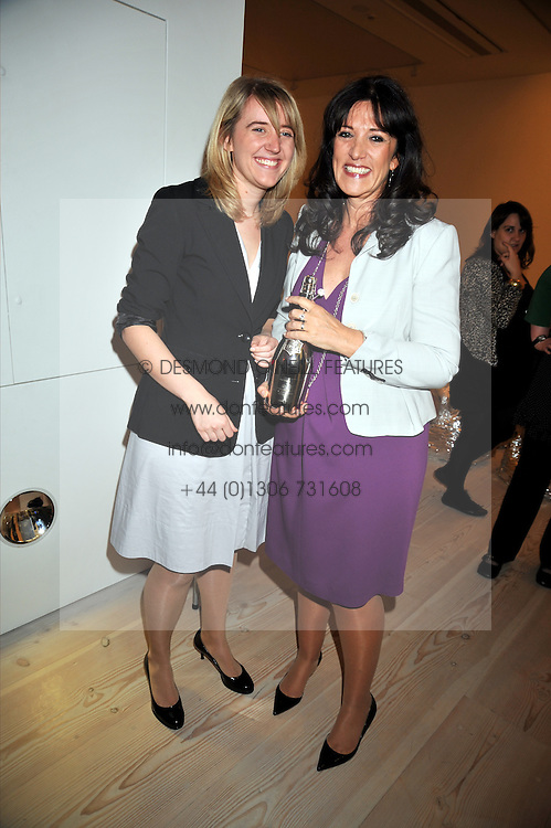 Left to right, GEORGIA GOULDD and her mother GAIL REBUCK at the presentation of the Veuve Clicquot Business Woman Award 2009 hosted by Graham Boyes MD Moet Hennessy UK and presented by Sir Trevor Macdonald at The Saatchi Gallery, Duke of York's Square, Kings Road, London SW1 on 28th April 2009.
