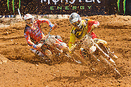 Agueda, Portugal, 5th May 2013, World Championship MX1, Belgian Kevin Strijbos  with a Suzuki, 10th race 1 and  9th in race 2