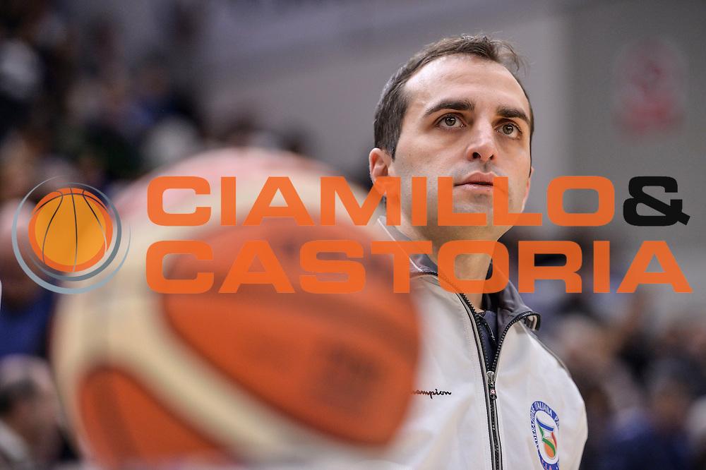 Matteo Boninsegna<br /> Banco di Sardegna Dinamo Sassari - Red October Pallacanestro Cantù<br /> LegaBasket Serie A Poste Mobile 2016/2017<br /> Sassari 12/02/2017<br /> Foto Ciamillo-Castoria
