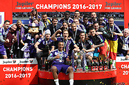 RSC Anderlecht Win 2016/2017 Cup - 21 May 2017
