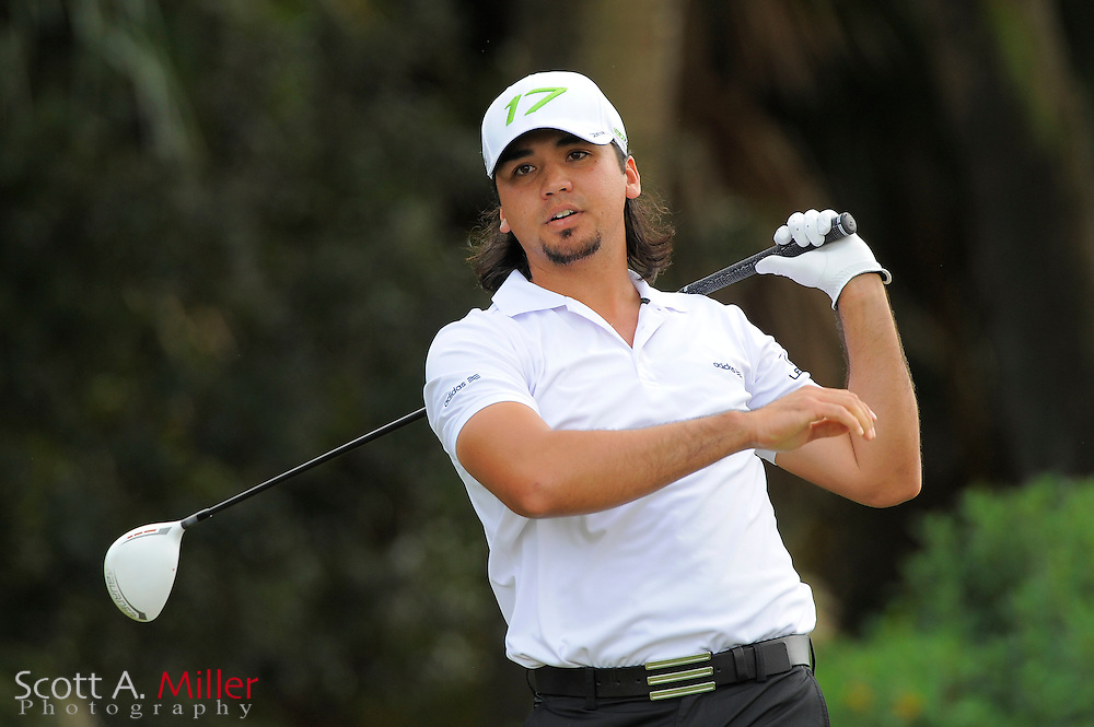 Jason Day during the first round of the World Golf Championship Cadillac Championship on the TPC Blue Monster Course at Doral Golf Resort And Spa on March 8, 2012 in Doral, Fla. ..©2012 Scott A. Miller.