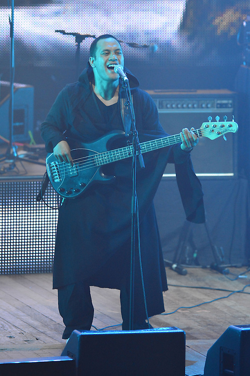 Kora performing at the APRA Silver Scrolls Awards 2012. Auckland Town Hall. 13 September 2012.