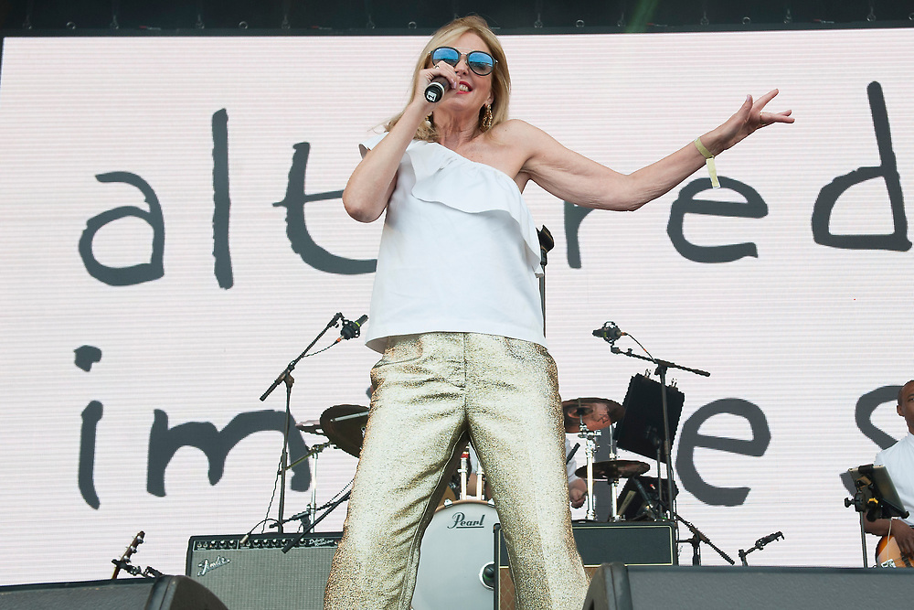 Altered Images in concert at Lets Rock Scotland, Dalkeith Country Park, Edinburgh, Great Britain 23rd June 2018