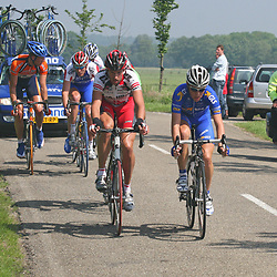 Olympia Tour 2007 peloton in actie
