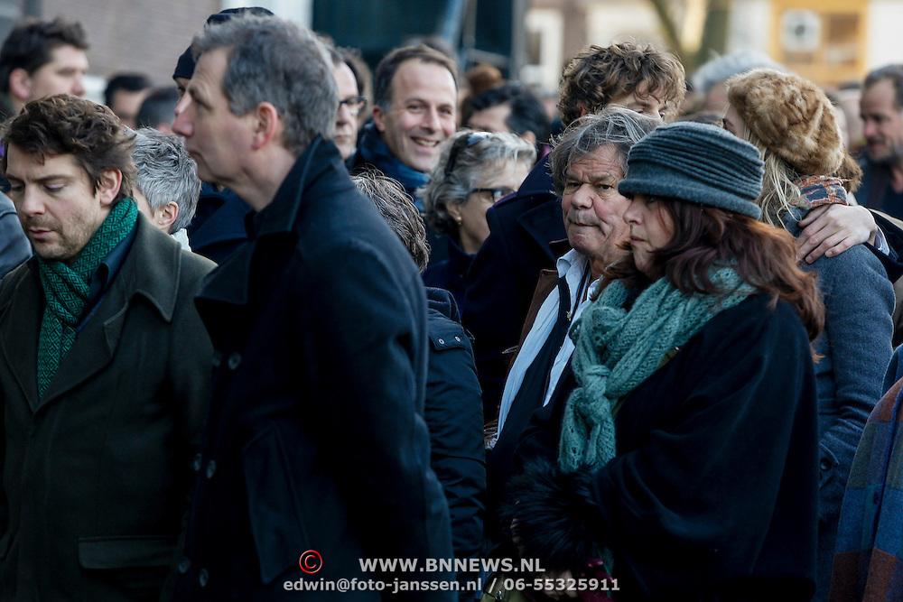 NLD/Amsterdam/20121208 - Herdenkingsdienst voor de verleden Jeroen Willems, ...............