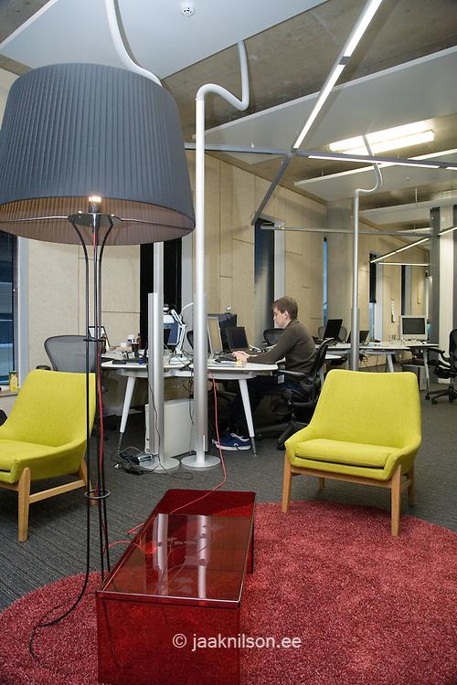 Modern Skype Office in Tallinn, Estonia