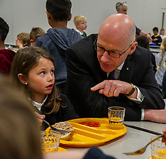 John Swinney announces changes to the statutory regulations to school food; Edinburgh, 12 June 2019