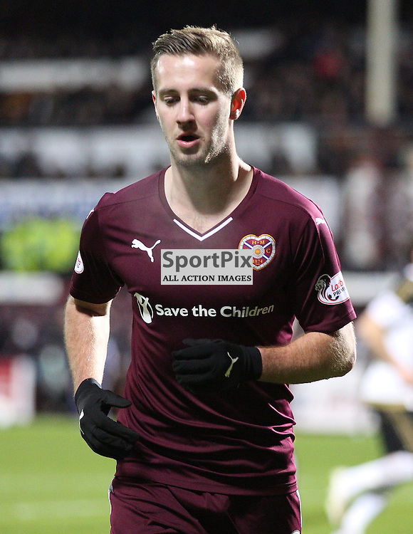 Hearts v Aberdeen Scottish Cup 9 January 2016; Billy King (Hearts, 12) during the Heart of Midlothian v Aberdeen William Hill Scottish Cup fourth round match played at Tynecastle Stadium, Edinburgh; <br /> <br /> &copy; Chris McCluskie | SportPix.org.uk