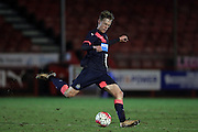 U21 Newcastle United's Sean Longstaff during the Barclays U21 Premier League match between U21 Brighton and Hove Albion and U21 Newcastle United at the Checkatrade.com Stadium, Crawley, England on 23 March 2016.