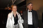 John Redwood and Nikki Page. The Black and White Winter Ball. Old Billingsgate. London. 8 February 2006. -DO NOT ARCHIVE-© Copyright Photograph by Dafydd Jones 66 Stockwell Park Rd. London SW9 0DA Tel 020 7733 0108 www.dafjones.com