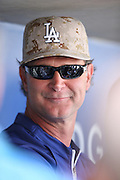 LOS ANGELES, CA - MAY 27:  Don Mattingly #8 of the Los Angeles Dodgers smiles as he talks to the media before the game against the Los Angeles Angels of Anaheim on Monday, May 27, 2013 at Dodger Stadium in Los Angeles, California. The Dodgers won the game 8-7. (Photo by Paul Spinelli/MLB Photos via Getty Images) *** Local Caption *** Don Mattingly