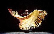 Eva Yerbabuena<br /> Flamenco Festival London <br /> at Sadler's Wells, London, Great Britain <br /> Press photocall<br /> 17th February 2017 <br /> <br /> Eva Yerbabuena<br /> <br /> <br /> <br /> Photograph by Elliott Franks <br /> Image licensed to Elliott Franks Photography Services